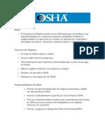 Aspectos Reelevantes de La OSHA