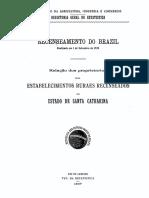 Recenseamento no Brazil 1920