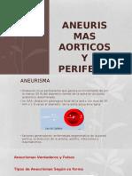 Aneurismas Aorticos y Perifericos
