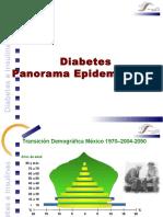 Panorama Epidemiologico Dm