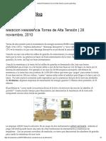Medición Resistencia Torres de Alta Tensión _ Lyncole Latam Blog