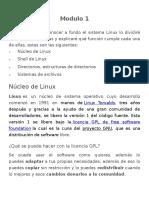 Modulo 2 - Núcleo, Shell, Estructura de Directorios y Permisos