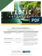 Explorer Exotics Deployment Flyer 2017 2018