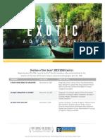 Ovation Exotics Deployment Flyer 2017 2018