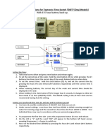 Operating Instructions for Toptronic Time Switch TDDT7