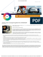 ¿Cómo Crear Un Programa Global de Confiabilidad