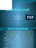 Geothermal Power Point