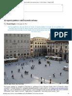 El Espacio Público Como Leyenda Urbana