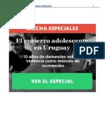 El Encierro Adolescente en Uruguay