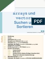 C++ std array und vector
