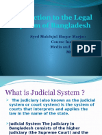 Legal System of Bangladesh
