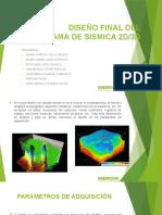 Diseño Final Del Programa Sísmico 2D