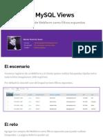 Webform MySQL Views