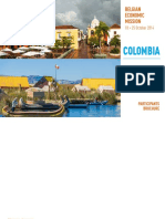 Belgian Economic Mission to Colombia and Peru 2014 Participants Brochure 0