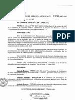 Resolucion Gerencial Municipal N 0336 2007