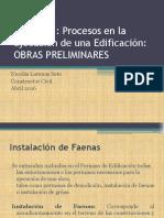 Instalacion Faenas. Duoc 2016