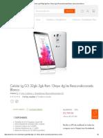 ➢ Compra Celular Lg G3 32gb 3gb Ram 13mpx 4g Lte Reacondicionado Blanco online _ Linio México