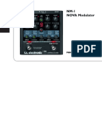 Tc Electronic Nm-1 Nova Modulator Manual Spanish