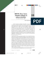 Resenha da obra - competencia pedagogica do professor universitário.pdf