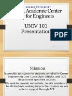 UNIV 101 Presentation_ACE