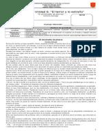 CONTROL DE LECTURA EL ALMOHADÓN DE PLUMAS