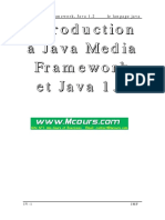 Le Langage Java Java Media Framework Java 1 2