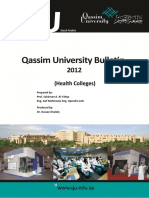 QU Bulletin 2012 - Health Colleges-Final
