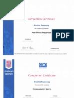 coaching certificates