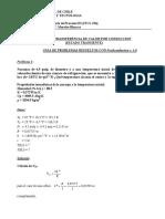 Guía Problemas Resueltos transferencia de calor - Unidad 3