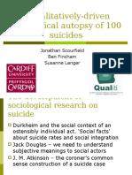 A Qualitatively-driven Sociological