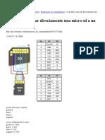 Conectar Directamente Una Micro Sd a Un Puertousb