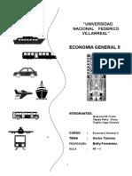 Monografía Turismo - Economía.