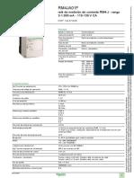 Zelio Control RM4JA01F