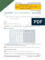 Proposta de Teste n.º 1 - Matemática a - 10.º Ano - Outubro de 2015 - Proposta de Resolução