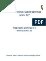 Tema II Cap IV Vigilancia Epidemiologica Del Zika