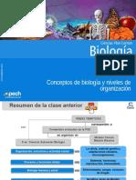 Clase 2 Conceptos de Biología y Niveles de Organización 2015
