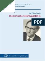 Theoretische Strömungslehre-wieghardt Book. 1