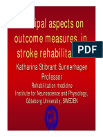 Outcome Stroke Rehab