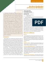 Dry Heat Sterilization of Parenteral Oil Vehicles