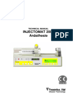 Fresenius Injectomat 2000 - Service Manual