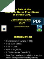 Stroke Guidelines