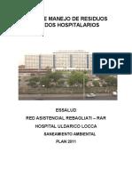 Caracterizacion de Rsh. Hospital Uldarico Locca