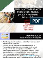 teori Nola J. Pender. HPM.ppt