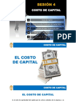 Sesion Costo de Capital