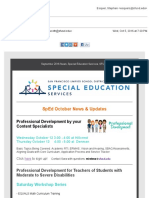 san francisco unified school district mail - sped news october 2016