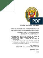 Analisis Ley 28950, 27337, 30364 - SO2. PNP. J. ARCE T.