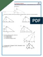 Relações Métricas No Triângulo Retângulo #01