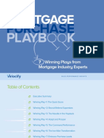 Mortgage Purchase Playbook 13 Pages