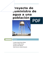 Propuesta de Proyecto Hidraulico Final