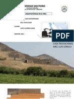 Obras en El Peru....